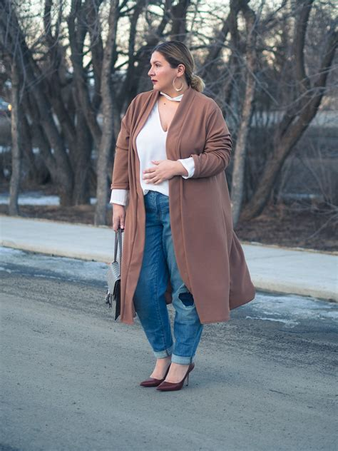 duster coat and distressed march and may