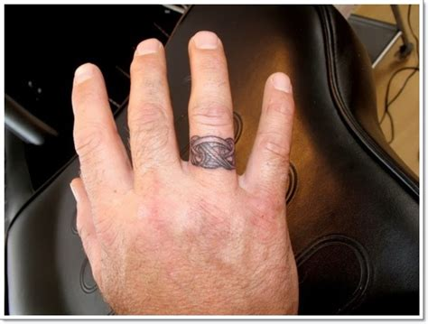ring tattoos for men 40 of the best wedding ring designs