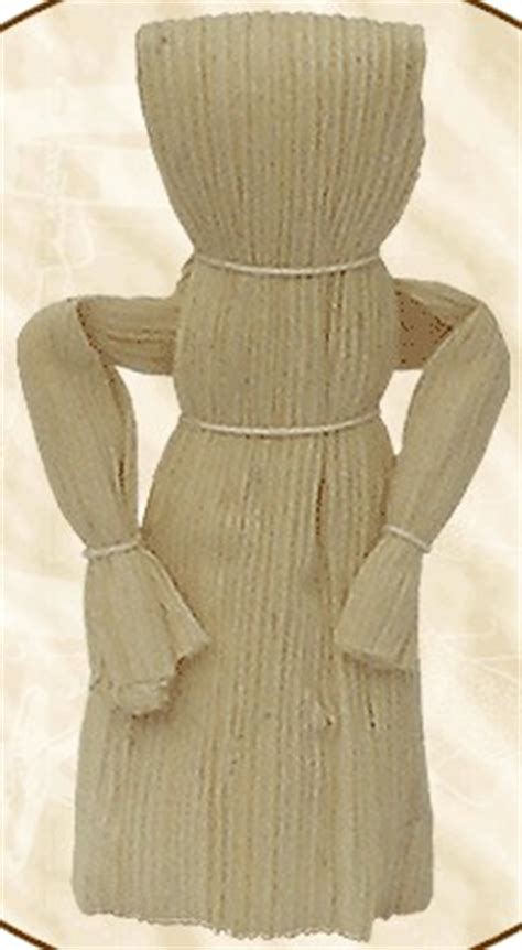 traditional corn husk doll 19th century 1800s toys