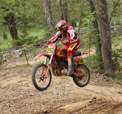 motocross races in ohio cunningham and shephard roll at ama vintage motocross and