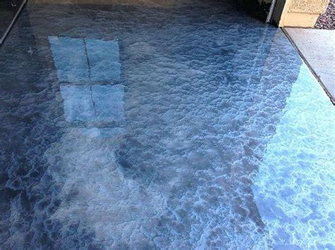 home improvement. Metallic epoxy garage floor   Garage
