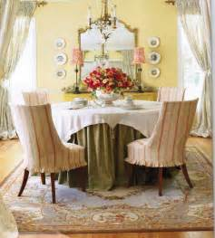 chic french country inspired home real comfort and french country dining room with chair covers design
