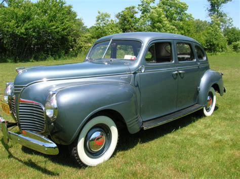 1941 plymouth special deluxe 1941 plymouth special deluxe 4 door sedan