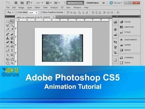 tutorial photoshop adobe cs5 adobe photoshop cs5 animation tutorial how to create