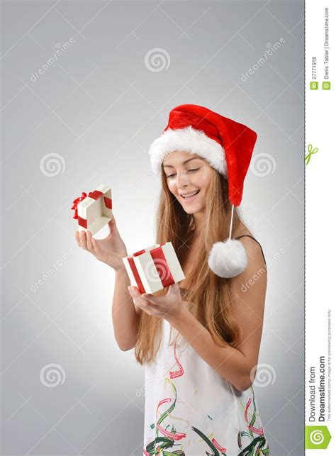 santa hat music box in santa claus royalty free stock photos image 27771918