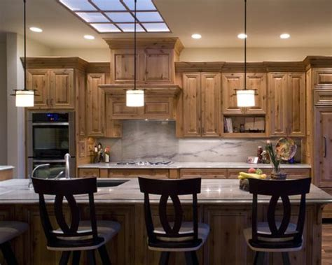 steel kitchen island royal forge inc knotty alder cabinets pictures houzz