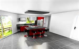 Attrayant Plan De Travail Cuisine Rouge #7: 03-Chapitre2.Cuisinella.implant1.jpg