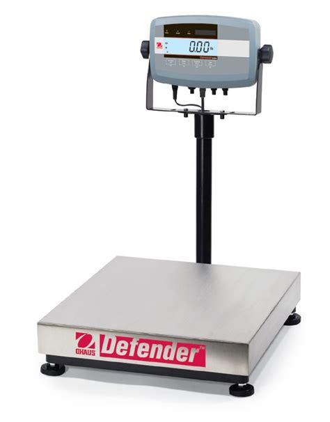 bench scale ohaus defender 5000 bench scale brady systems