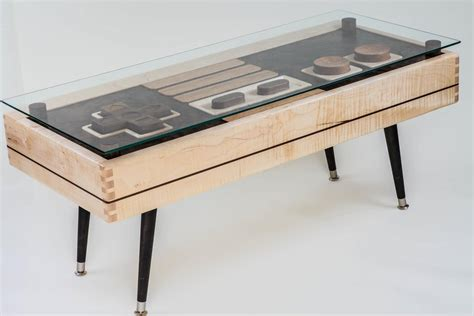 Controller Coffee Table Functional Wooden Nes Controller Coffee Table Available For 3 700