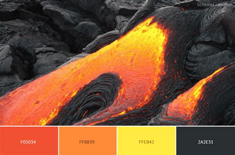 what color is lava 20 rock color schemes inspired from images 187