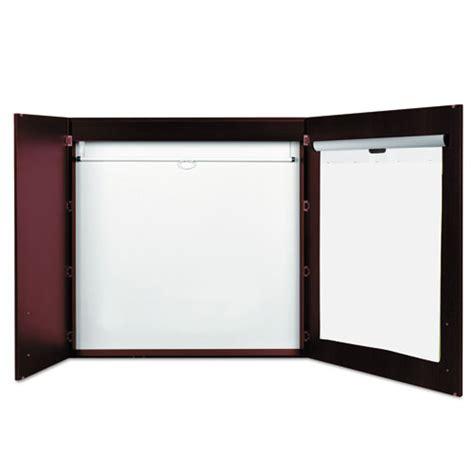 executive dry erase board cabinet cherry bvccab01010130 mastervision conference cabinet zuma