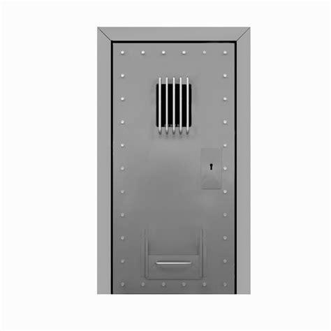 Custom Metal Door Design Suitable For Average Prison Cell Custom Size Steel Exterior Doors