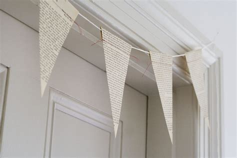 Banner Flag Diy Bunting Flag Do It Yourself Custom Request diy salvaged newspaper bunting the sweetest occasion