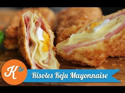 membuat risoles youtube cara membuat risoles keju mayonnaise how to make cheese