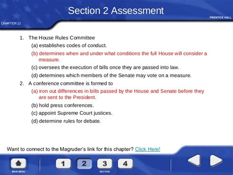 chapter 12 section 2 committees in congress congress in action