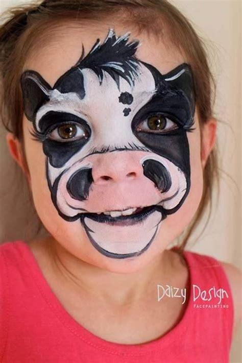 imagenes para pintar la cara las 25 mejores ideas sobre pinturas de cara de vaca en