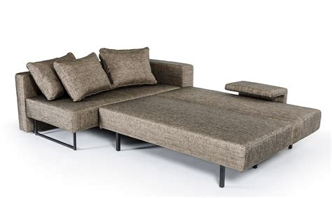 fabric sofa with chaise divani casa olympic modern fabric sofa with chaise vig
