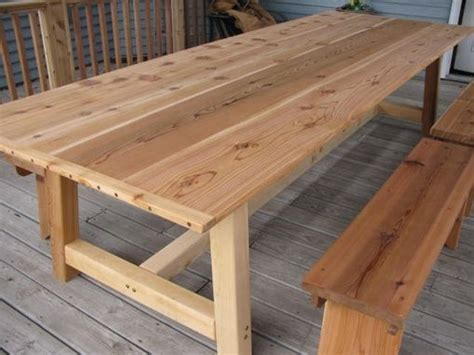 large outdoor dining table handmade large outdoor dining table cedar by
