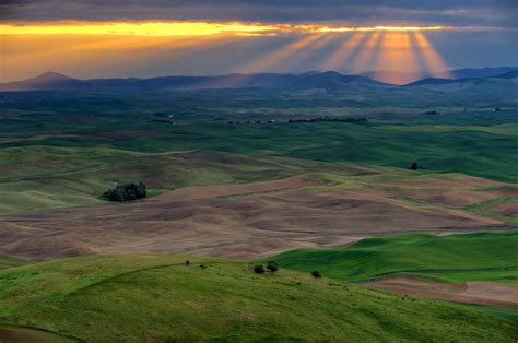 astonishing landscapes   palouse region washington