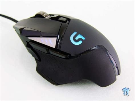 Logitech G502 Proteus Gaming Mouse logitech g502 proteus spectrum rgb tunable gaming mouse review
