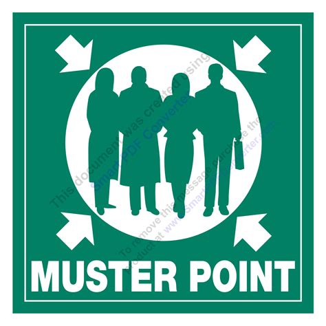 Muster X muster point signs