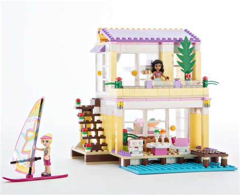 lego friends beach house lego friends pley rent the coolest toys including lego