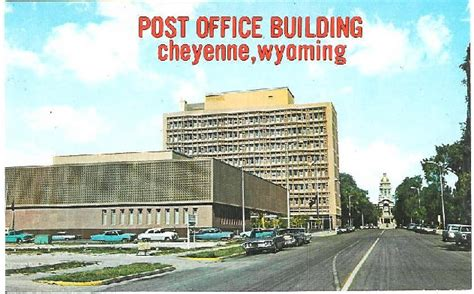 Cheyenne Post Office by Post Office Photo Collection Post Collectors Club
