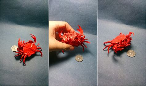 Origami Crab - 26 great origami models for when you re feeling a bit crabby
