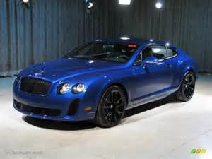 Blue Bentley Gt 2010 Moroccan Blue Bentley Continental Gt Supersports