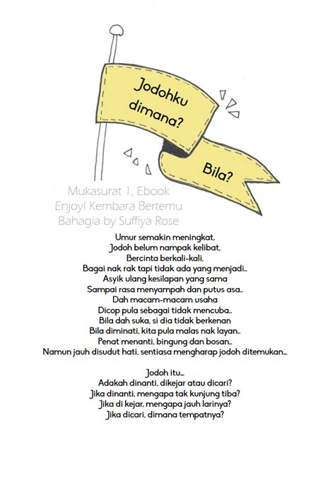 Novel Ebook Jodoh Akan Bertemu Dwitasari majestic daily motivational inspirational and devotional stories pelbagai usaha untuk