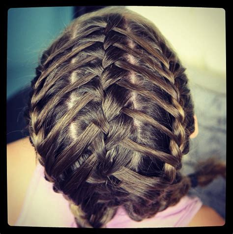 cute girl hairstyles how to french braid waterfall into double french braids