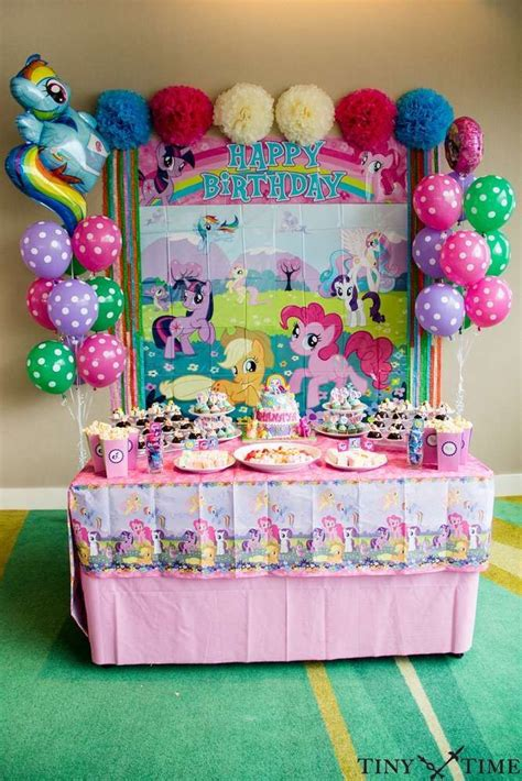 pony parties make a great birthday treat for kids 216 best my little pony party ideas images on pinterest