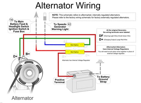 vw alternator wiring diagram 73 vw alternator wiring