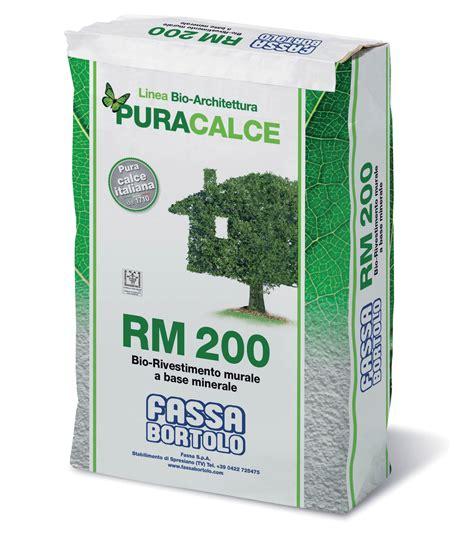 Bio Rm rm 200 bio rivestimento murale bianco a base minerale