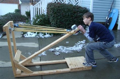 Handmade Catapult - 1000 images about pumpkin chunkin in the on