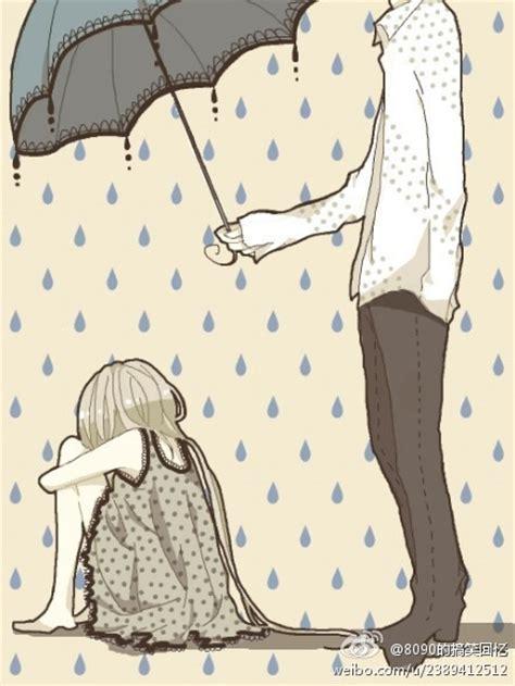 imagenes de amor tipo tumblr 谁有男孩子给在雨中的女孩子打着伞自己淋雨的唯美图片 百度知道