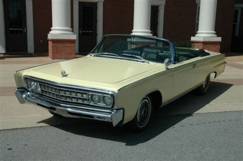 1966 Chrysler Imperial Convertible by 1966 Chrysler Imperial Crown Convertible 2 Door 7 2l 1of