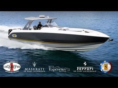 ferrari cigarette boat ferrari club of america and ferrari of fort lauderdale at