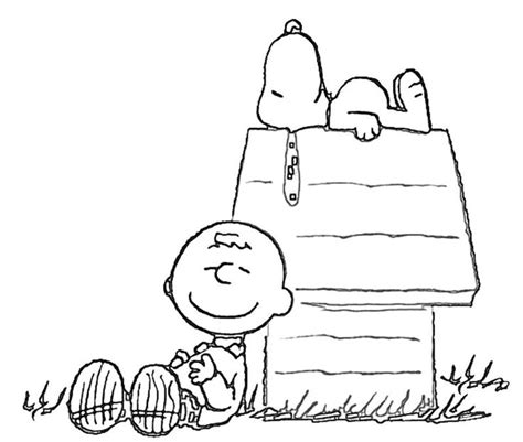 printable snoopy house free coloring page of snoopy on his house printable