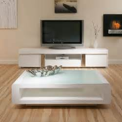 White Coffee Table And End Tables White Coffee L Side Table Glass Top Modern New Designer 73a Ebay