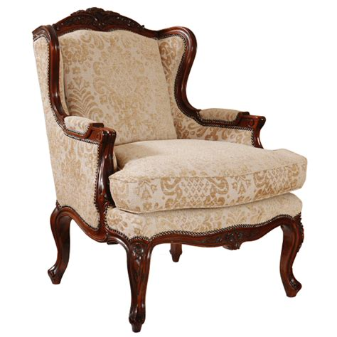 wood frame wingback chair provincial wingback wood carved frame by classic