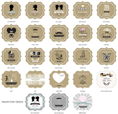 Vintage Baby Shower Favors by Vintage Baby Mini Jars Baby Shower Glass And