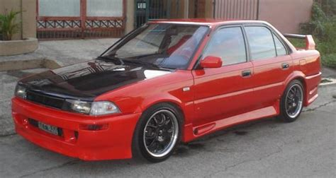 modified toyota corolla 1990 rcdt 23 1990 toyota corolla specs photos modification