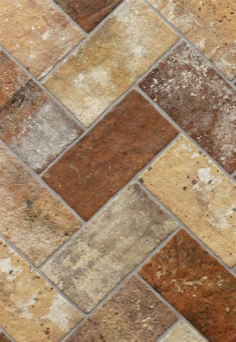 brick multi 5 quot x 10 quot porcelain floor tile