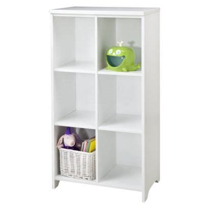 Circo 174 Chloe Conner 6 Cube Bookcase White Girls 6 Cube Bookcase White