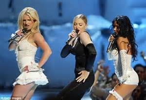 Britneys Show Panned By Madonnas by Miley Cyrus And Madonna To Perform Together For Mtv