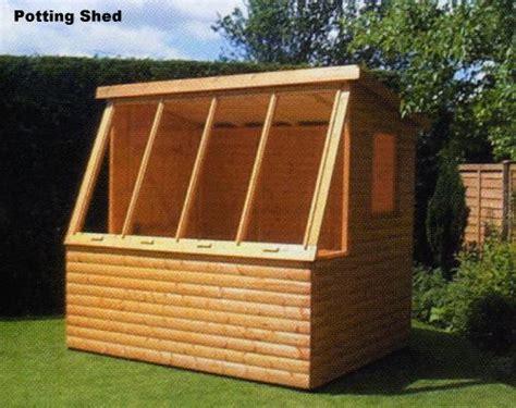 potting shed plans pent shed plans ideas details chellsia