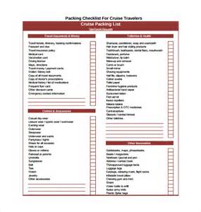 packing checklist template packing checklist template 15 free documents