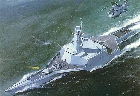 trimaran warship design triton trimaran naval technology