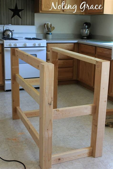 how to build an kitchen island how to make a pallet kitchen island for less than 50
